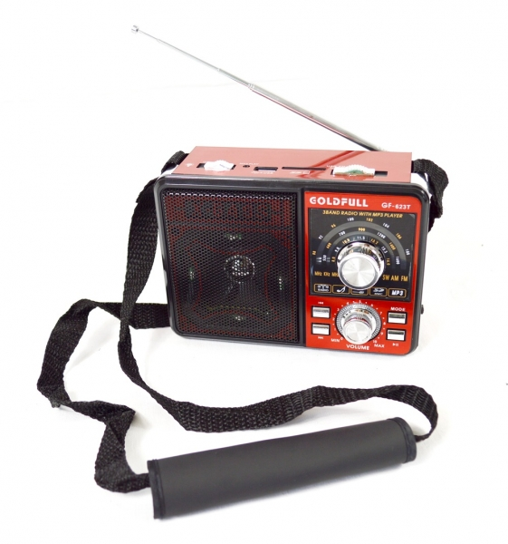outdoor radio mit led leuchte und akku mp3 usb sd card aux farbe rot ebay. Black Bedroom Furniture Sets. Home Design Ideas